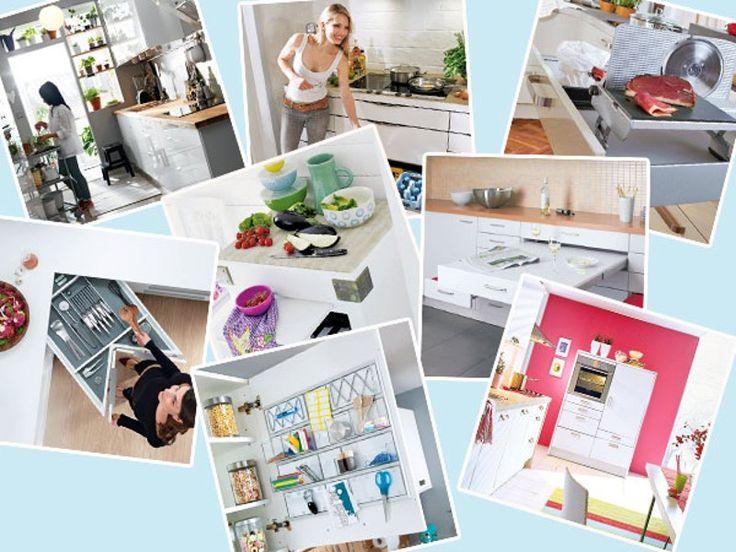 smart einrichten 17 clevere l sungen f r die mini k che zimmergestaltung k che und einrichtung. Black Bedroom Furniture Sets. Home Design Ideas