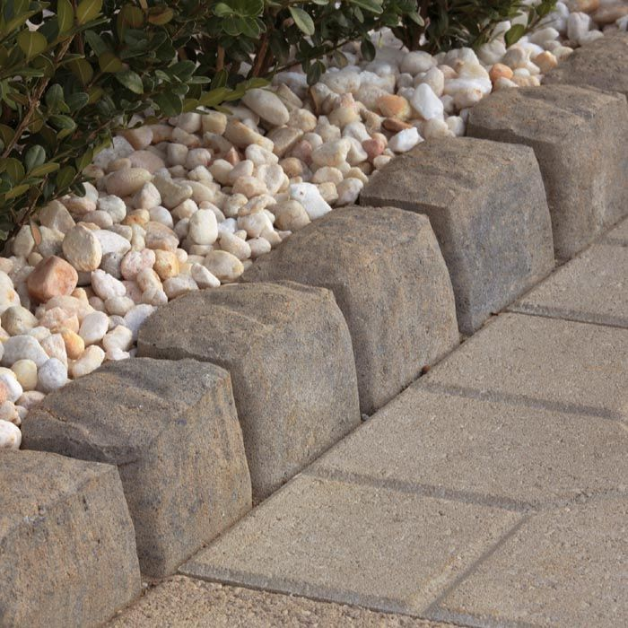 Patio Block Edging Stones And Pavers Outdoors