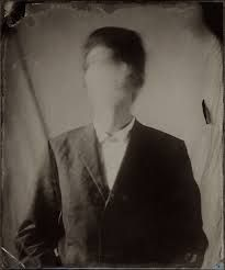 Ben Cauchi - Portrait Of The Artist, 2002 ambrotype