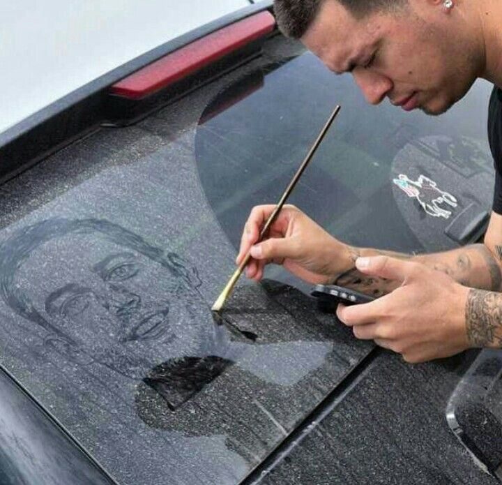 Best Art Images On Pinterest Drawings Drawing And Drawing - Astonishing photorealistic paintings of places seen through wet car windshields