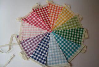 vlaggenlijn regenboog ruitjes, het Vrolijke Nest