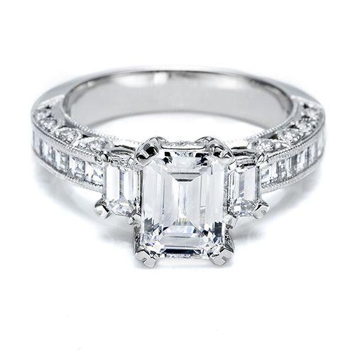 just lovely: Tacori, Idea, Emerald Cut, Dream, Diamonds Rings, Jewelry, Buckles, Emeralds Cut Diamonds, Diamonds Engagement Rings
