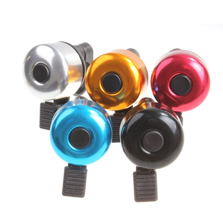 Aluminum Alloy Loud Sound Bicycle Bell Handlebar Metal Ring Bike Cycling Horn Classical Ring Horn Safety for Bicycle