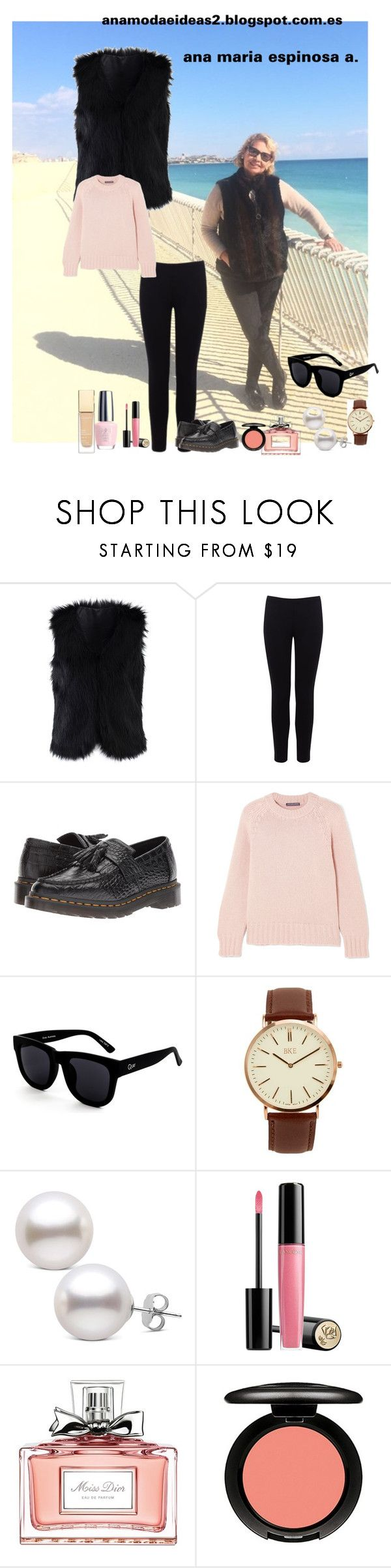 """""""WELCOME TO ALICANTE -  SPAIN - 27/2/2,018"""" by anamariapaula ❤ liked on Polyvore featuring Chicwish, Warehouse, Dr. Martens, Alexander McQueen, Quay, BKE, Lancôme, Christian Dior, OPI and MAC Cosmetics"""