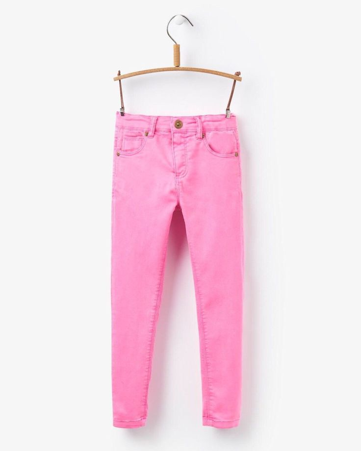 Joules Linnet Neon Pink Jeans