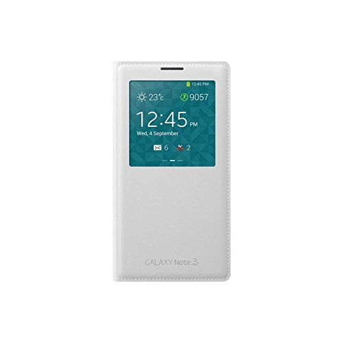 Samsung EF-CN900BWEGWW Etui Folio pour Samsung Galaxy Note 3 Blanc: Compatibilité :Samsung Galaxy Note 3 Couleur :blanc Matière :cuir…