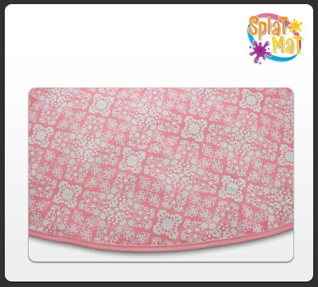 Booginhead SplatMat-booginhead splat mat splatmat splatmats mats sticky floor floors protector protectors high chair dropped food art project projects $23.95Splatmat Booginhead Splat, Mats Sticky, Pink Lace, Booginhead Splatmat Booginhead, Drop Food, Mats Splatmat, Splatmat Mats, Food Art, Art Projects