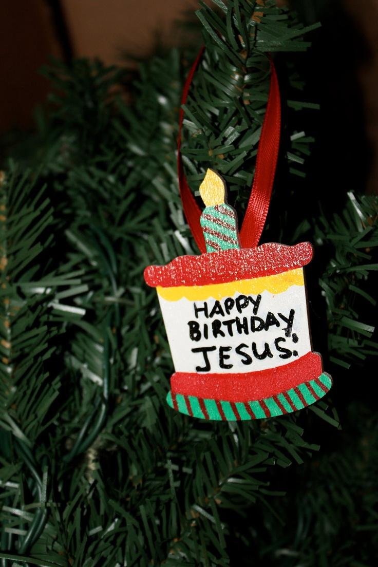 Happy Birthday Jesus Craft Ideas