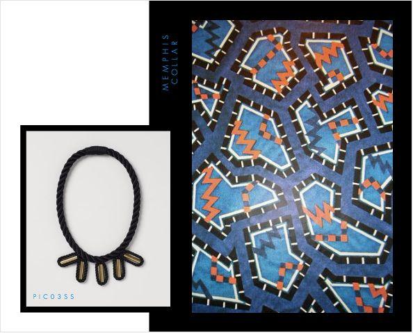 Memphis Collar Neckpiece. Buy Online: www.pichulik.com/shop