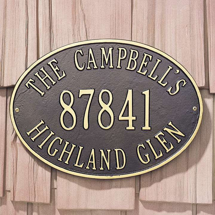 Hawthorne Address Plaques 26 best Wall Decor