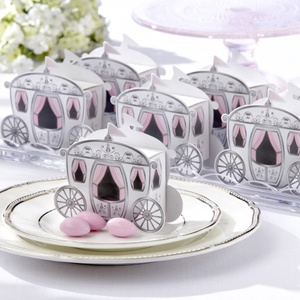 Enchanted Carriage Favor Box