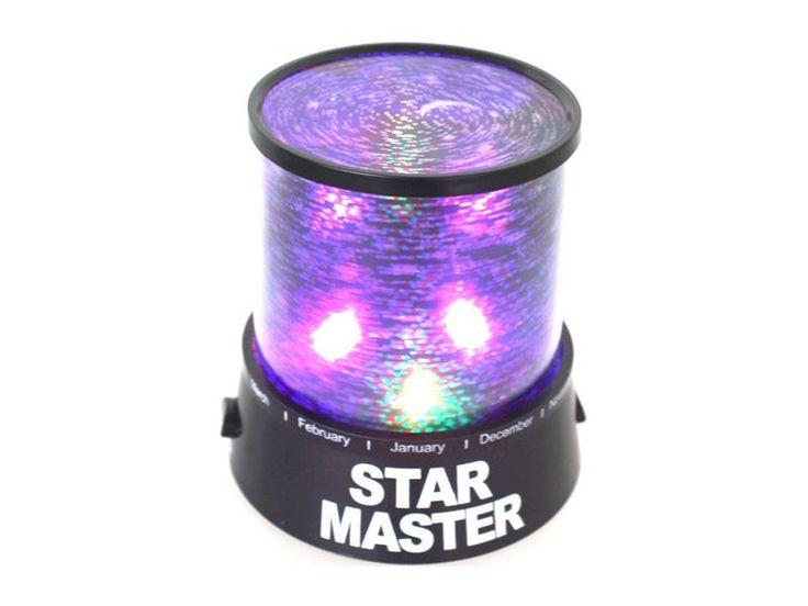Star Master LED light - music play - star field - (black)