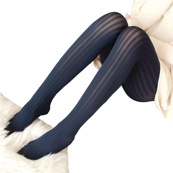 가을과 겨울 섹시한 패션 팬티 여성 벨벳 스타킹 다리 얇은 린넨 스레드 패턴 팬티 스타킹 무료 배송
