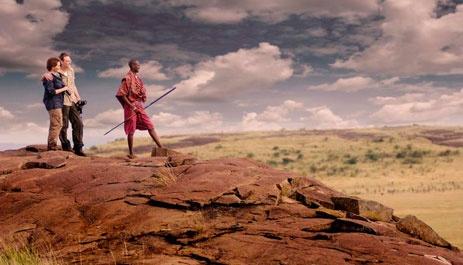 Walking safari, Kenya