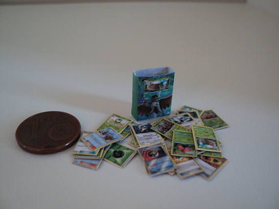 Miniature pokemon deck Forest Shadow1:10th scale