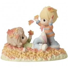 """Fall-ing In Love With You"", Bisque Porcelain Figurine - New Arrivals - Precious Moments"