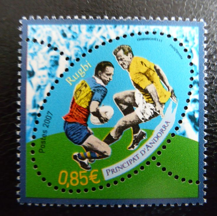 Andorra 2007 - For more #rugby collectables check out my blog: http://www.rocky-rugby.com/