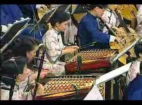 """chinese music in the Golden Hall of vienna erhu vienna new year's Concert 1998 Erhu and Orchestra """"Reflections of the Moon on the Water of Erquan"""" Composed b..."""