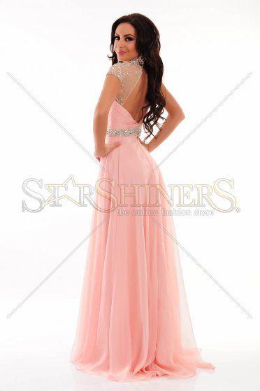 Rochie Sherri Hill 21254 Pink