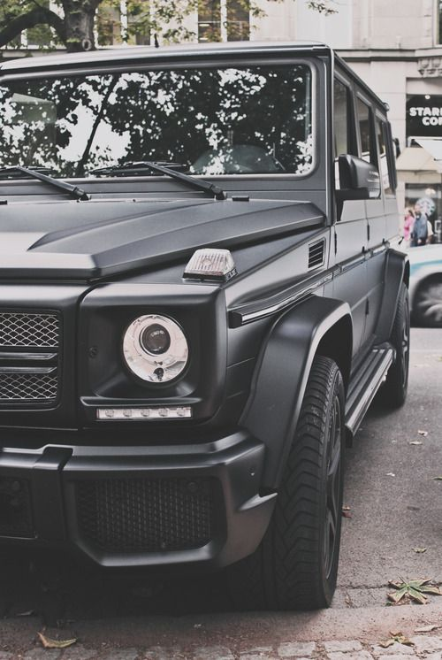 60 best mercedes g wagon images on pinterest dream cars for Mercedes benz g wagon black matte