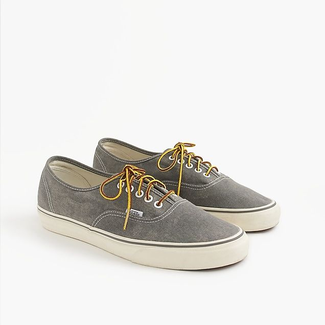 J.Crew washed canvas authentic sneakers
