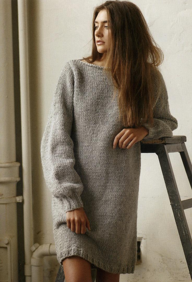 Sweater dress pattern