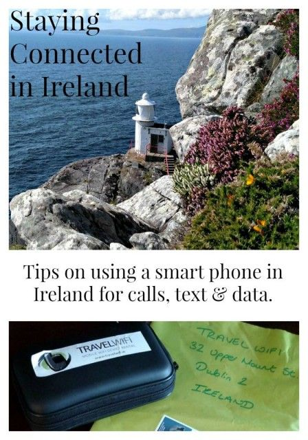 Using a Smart Phone in Ireland. Ireland travel tips.