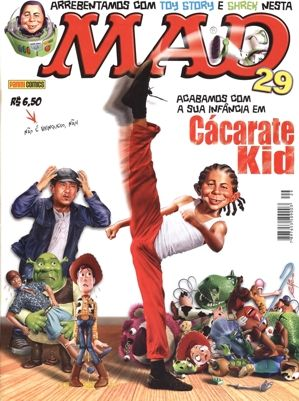MAD MAGAZINE ALF cover | Panini Comics - Número 29 (duas capas) - Agosto de 2010