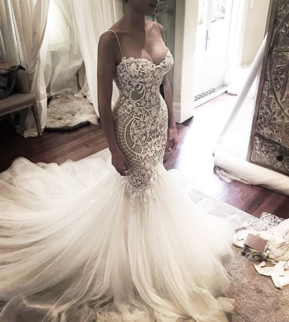 25  best ideas about Mermaid wedding dresses on Pinterest | Lace ...