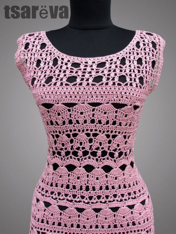 SALE 50% OFF. Crochet Dress Catherine. Ready to by TsarevaCrochet