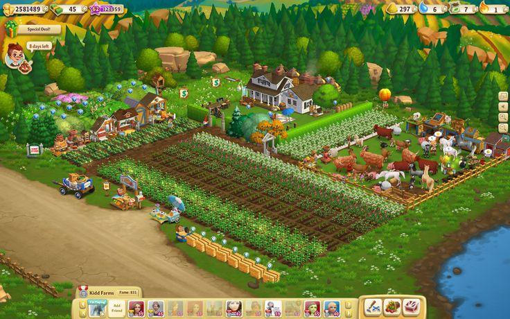 My FarmVille 2 farm.  Hehe.