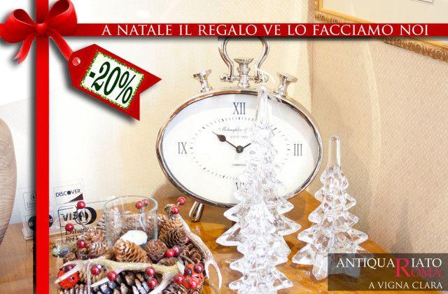 Regali ed arredi natali a Roma da RomAntiquariato.it