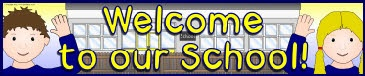 Welcome to Our School banners (SB8363) - SparkleBox
