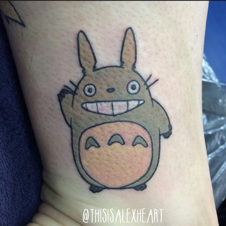 browsing body modification on deviantart totoro tattoo pinterest. Black Bedroom Furniture Sets. Home Design Ideas