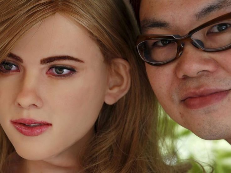 A Hong Kong man has built a robot version of Scarlett Johansson in his flat.
