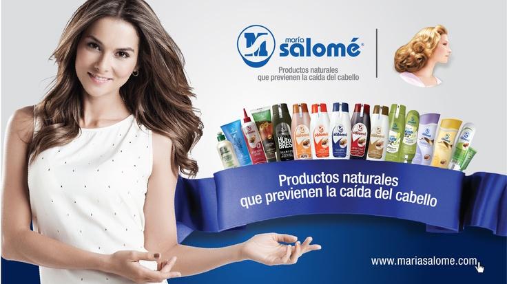 Línea completa de productos con base en extractos naturales María Salomé.