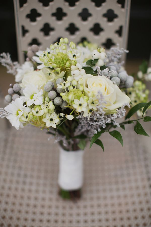 Irish Botanical Wedding Ideas #flowers #wedding (I love these flowers with little black centers, MJ)