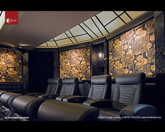 Home Theatre Interior Design Model Photo Decorating Inspiration