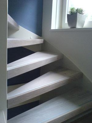 houten trap renovatie 2