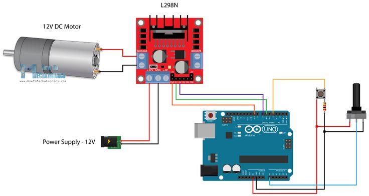 Arduino Dc Motor Control Tutorial