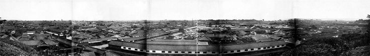 江戸時代に撮影された『江戸の町並みのパノラマ写真』 - ViRATES [バイレーツ]