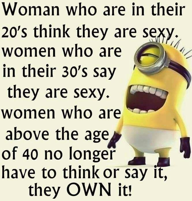 Women in their 50's are sexy