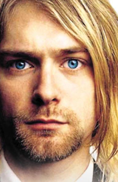 Kurt Cobain. His eyes are so sexy!