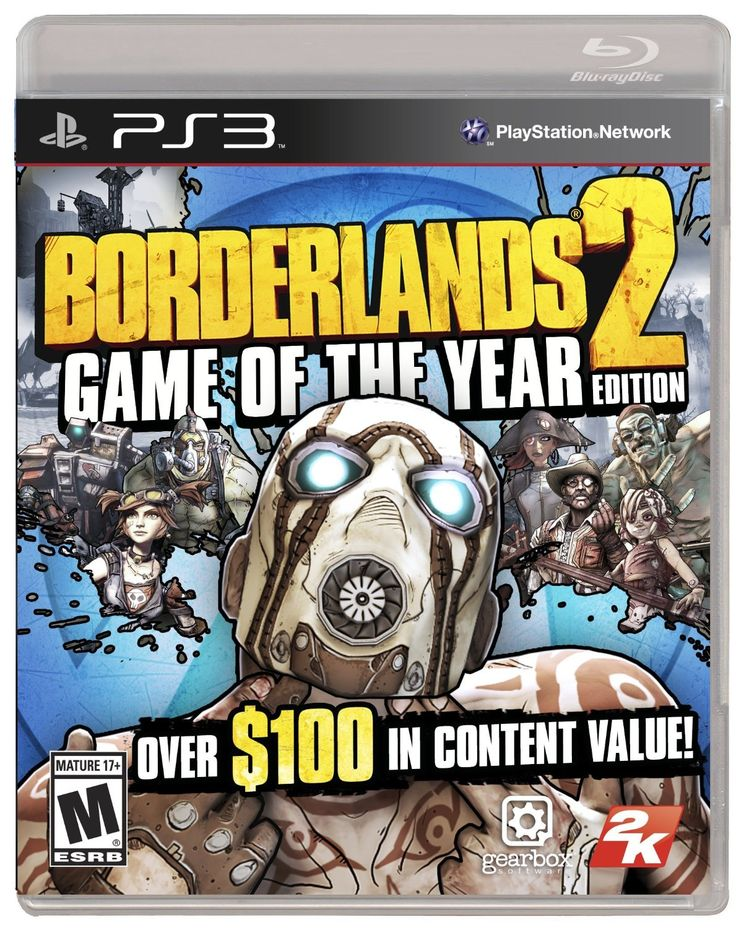 Amazon.com: Borderlands 2: Game of the Year Edition: Playstation 3: Video Games