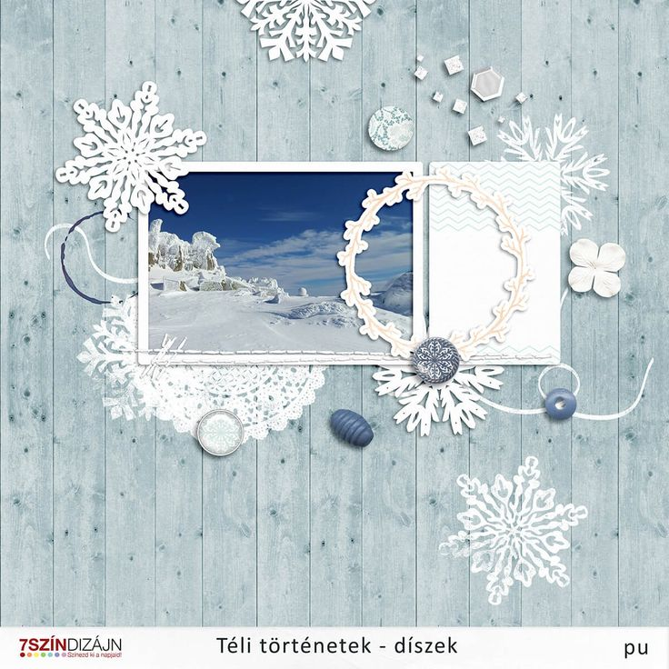 Winter elements - freebie