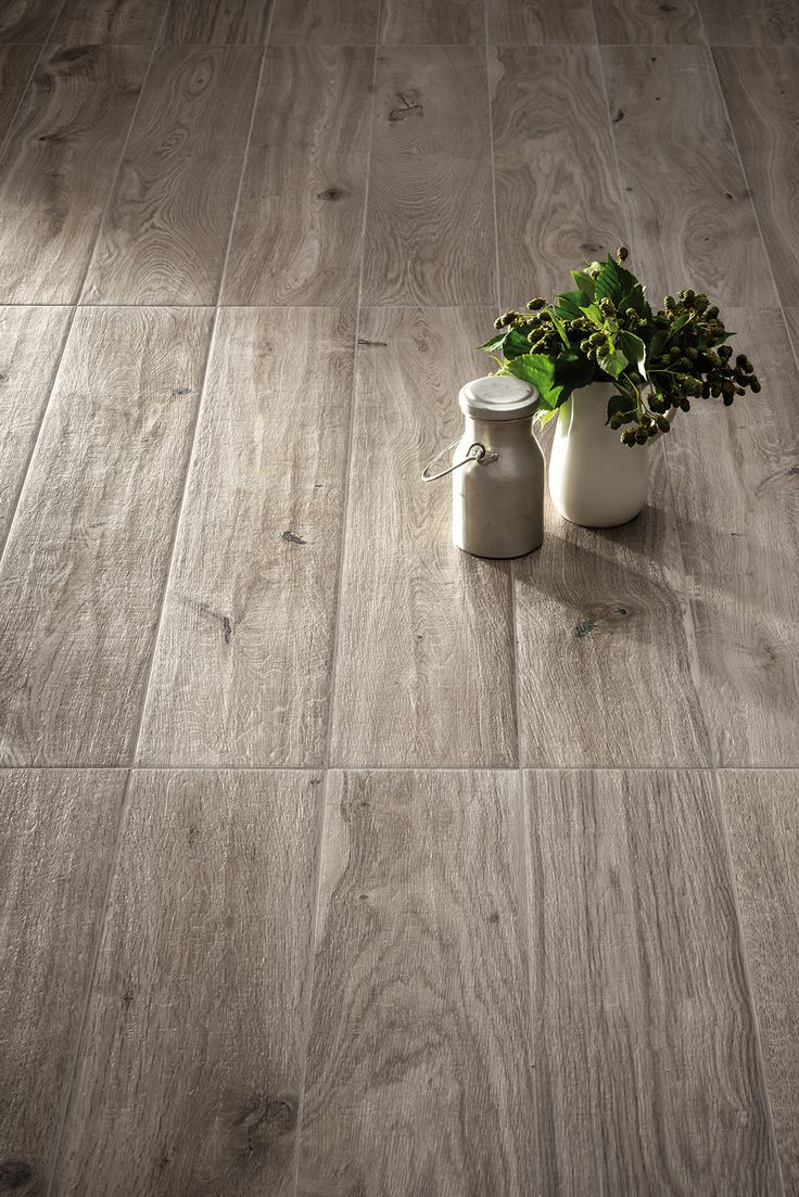 Tiles Should Be Offset, Not Lined Up Evenly. Marazzi: Treverkever  Collection   Hard Wood Effect Stoneware Flooring