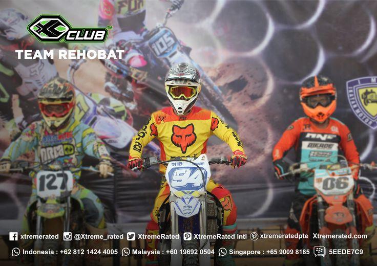 CONGRATULATIONS!  XCLUB Sponsor Rider REHOBAT TEAM  RIZKY HK [NATIONAL CHAMPION] 1st Place standing point GRASSTRACK NATIONAL CHAMPIONSHIP 2017 &  EDI ARYANTO 3rd Place standing point GRASSTRACK NATIONAL CHAMPIONSHIP 2017 |  GRASSTRACK  (Dec, 02 - 03rd 2017)  Circuit Talang Karangan Pendopo, Penukal Abad, Lematang Ilir (PALI), South Sumatra, Indonesia |   #xtremerated #xclub #motocross #grasstrack #rehobat #indonesia #champion