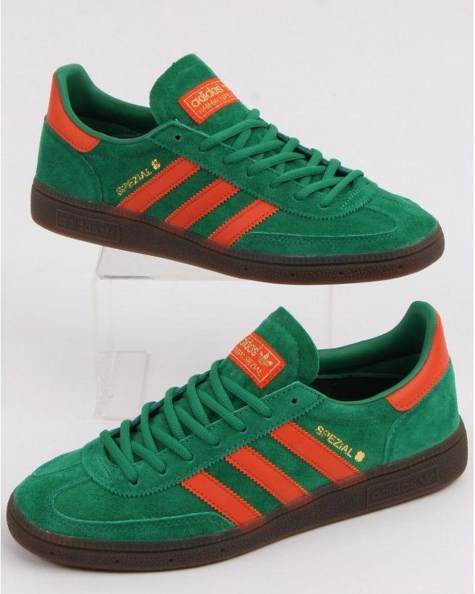adidas green handball spezial scarpe da ginnastica