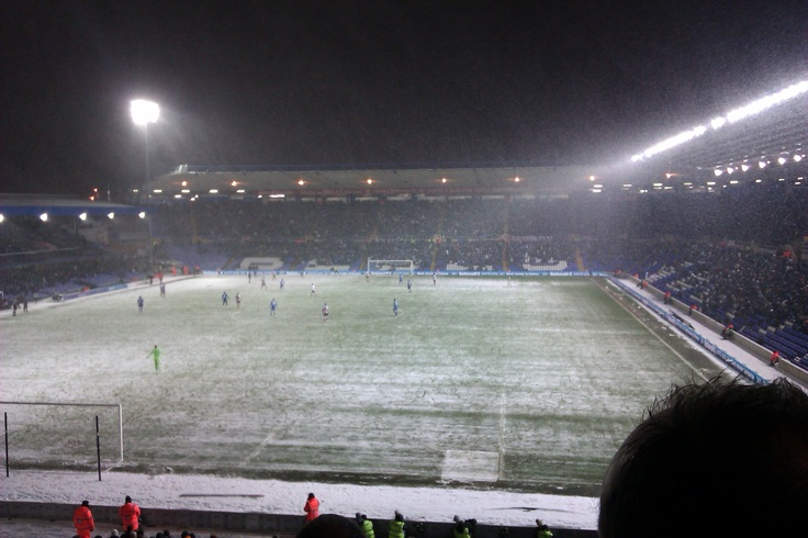 Snowy St Andrews, Birmingham