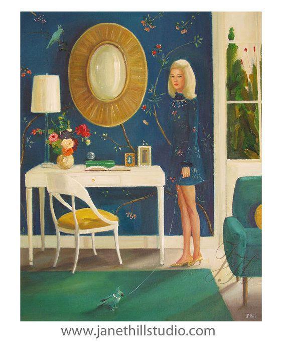 The Invisible Nature Of Tansy Fairchild. Art por janethillstudio